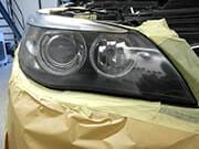 Herstel van beschadigde koplampen | na de reparatie